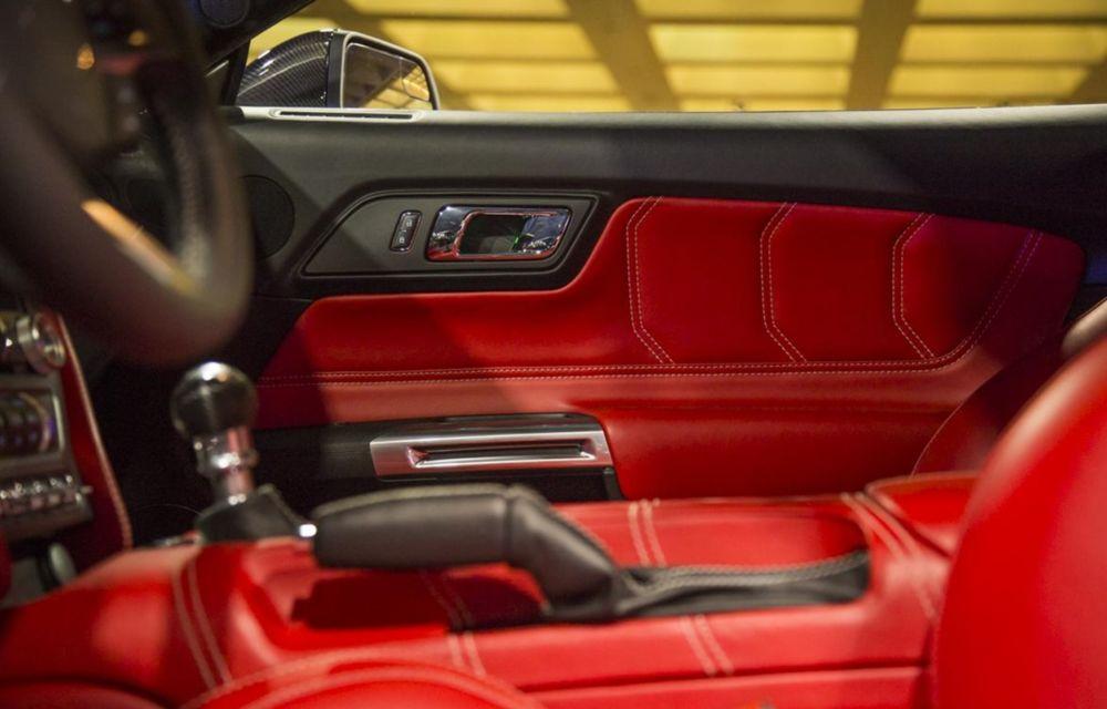 După decesul Fisker, fondatorul mărcii se reprofilează cu un Ford Mustang unicat, de 725 cai putere - Poza 21