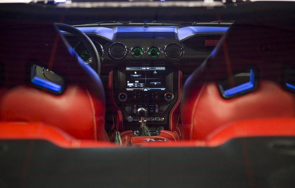 După decesul Fisker, fondatorul mărcii se reprofilează cu un Ford Mustang unicat, de 725 cai putere - Poza 25