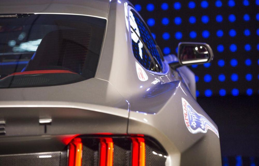 După decesul Fisker, fondatorul mărcii se reprofilează cu un Ford Mustang unicat, de 725 cai putere - Poza 7
