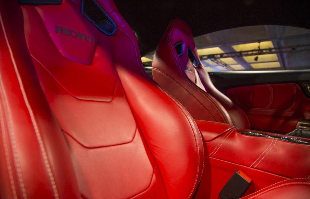 După decesul Fisker, fondatorul mărcii se reprofilează cu un Ford Mustang unicat, de 725 cai putere - Poza 23