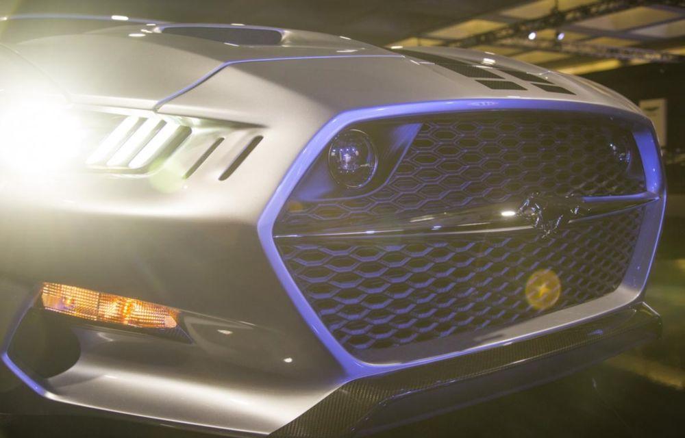 După decesul Fisker, fondatorul mărcii se reprofilează cu un Ford Mustang unicat, de 725 cai putere - Poza 15