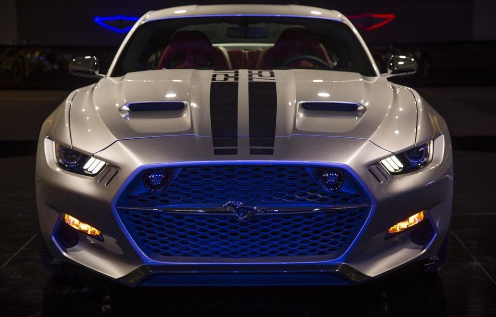 După decesul Fisker, fondatorul mărcii se reprofilează cu un Ford Mustang unicat, de 725 cai putere - Poza 4