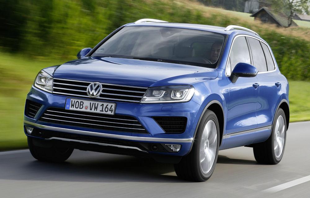 Preţuri Volkswagen Touareg facelift: versiunea restilizată a SUV-ului german pleacă de la 43.900 euro - Poza 1