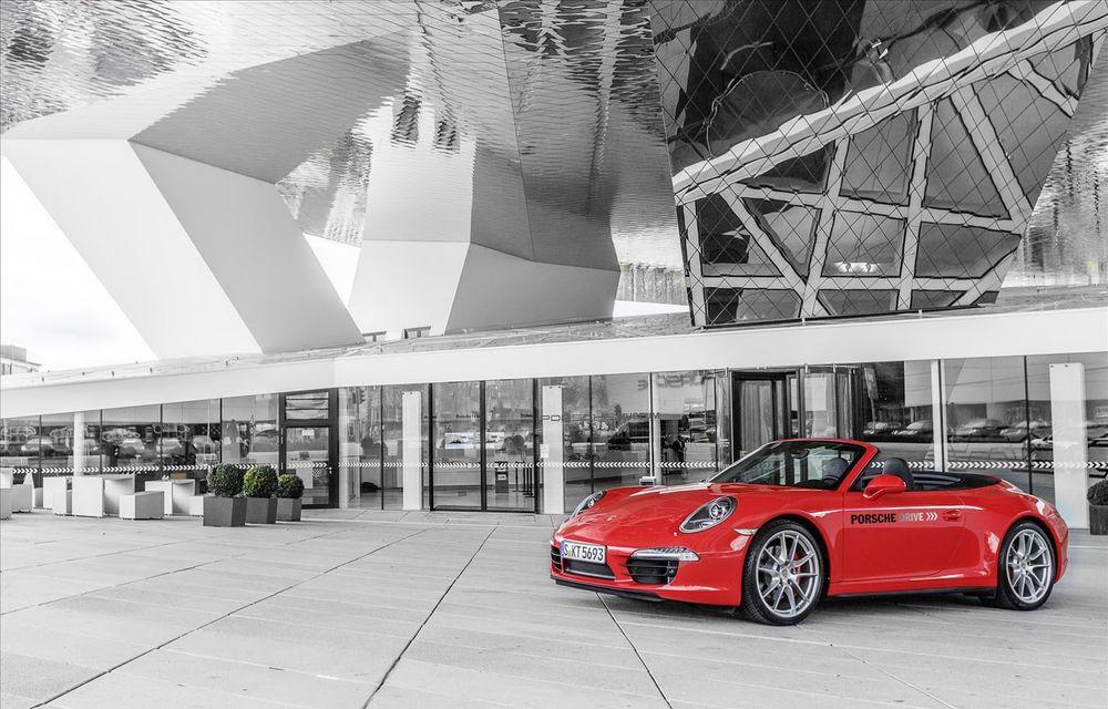 Muzeul Porsche închiriază modele din gama actuală cu doar 69 de euro pe oră - Poza 4