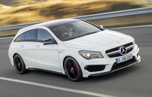 Mercedes-Benz CLA Shooting Brake este primul break compact al mărcii germane - Poza 1