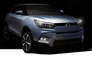 Ssangyong Tivoli: numele viitorului rival coreean al lui Nissan Juke