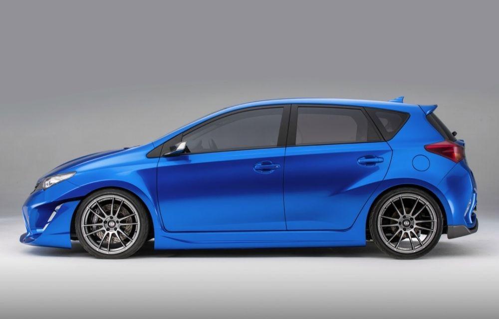 Toyota Auris va debuta pe piaţa din SUA în 2015 sub aripa mărcii Scion - Poza 2