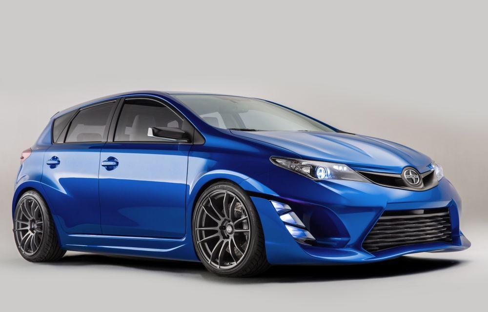 Toyota Auris va debuta pe piaţa din SUA în 2015 sub aripa mărcii Scion - Poza 1