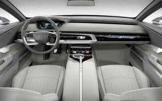 Audi vrea să reducă la minimum numărul de butoane fizice din maşinile viitorului