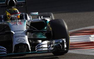 Teste Abu Dhabi, ziua 2: Mercedes ocupă prima poziţie