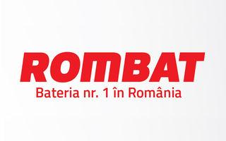 Producătorul de baterii auto Rombat îşi modernizează logoul