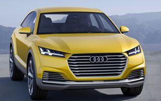 Audi se pregăteşte să lanseze un crossover compact bazat pe TT