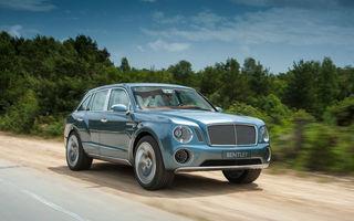 Bentley ar putea folosi numele Bentayga pentru viitorul său SUV