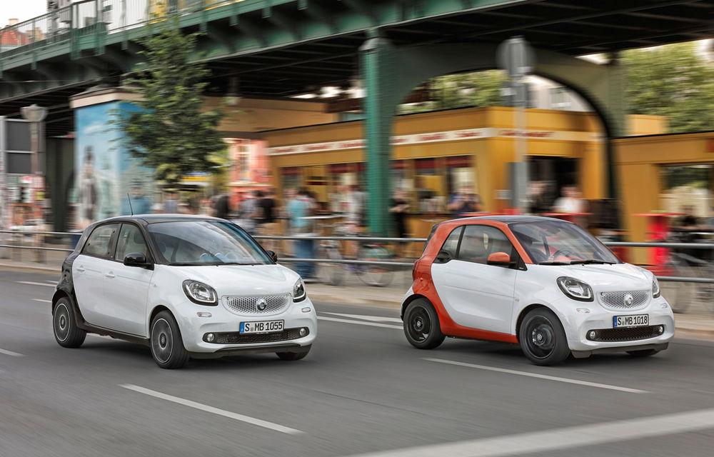 Smart a confirmat versiunile electrice ale modelelor Fortwo şi Forfour - Poza 1