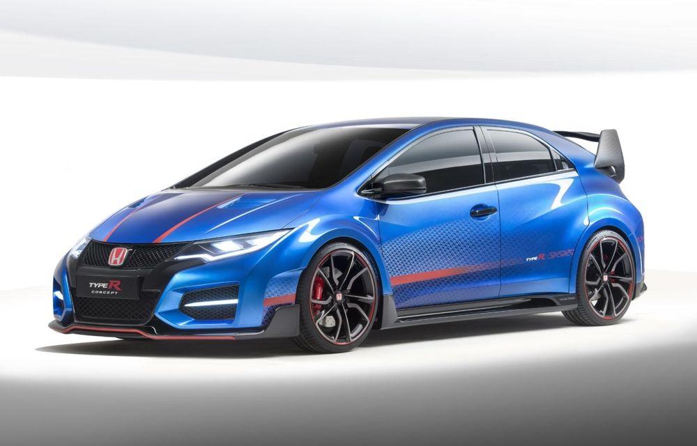 Honda a deschis listele de comenzi pentru Civic Type R în Regatul Unit deşi versiunea de serie nu a fost prezentată încă - Poza 1