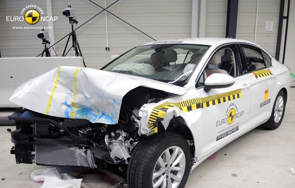 Noi rezultate EuroNCAP: Passat și Mondeo primesc cinci stele, însă Mini, Smart și Opel Corsa reușesc doar patru - Poza 59
