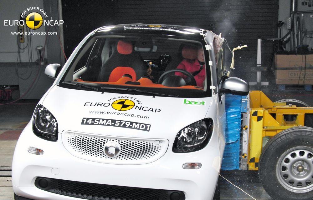 Noi rezultate EuroNCAP: Passat și Mondeo primesc cinci stele, însă Mini, Smart și Opel Corsa reușesc doar patru - Poza 12