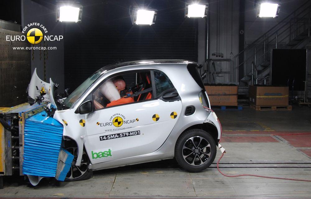 Noi rezultate EuroNCAP: Passat și Mondeo primesc cinci stele, însă Mini, Smart și Opel Corsa reușesc doar patru - Poza 7