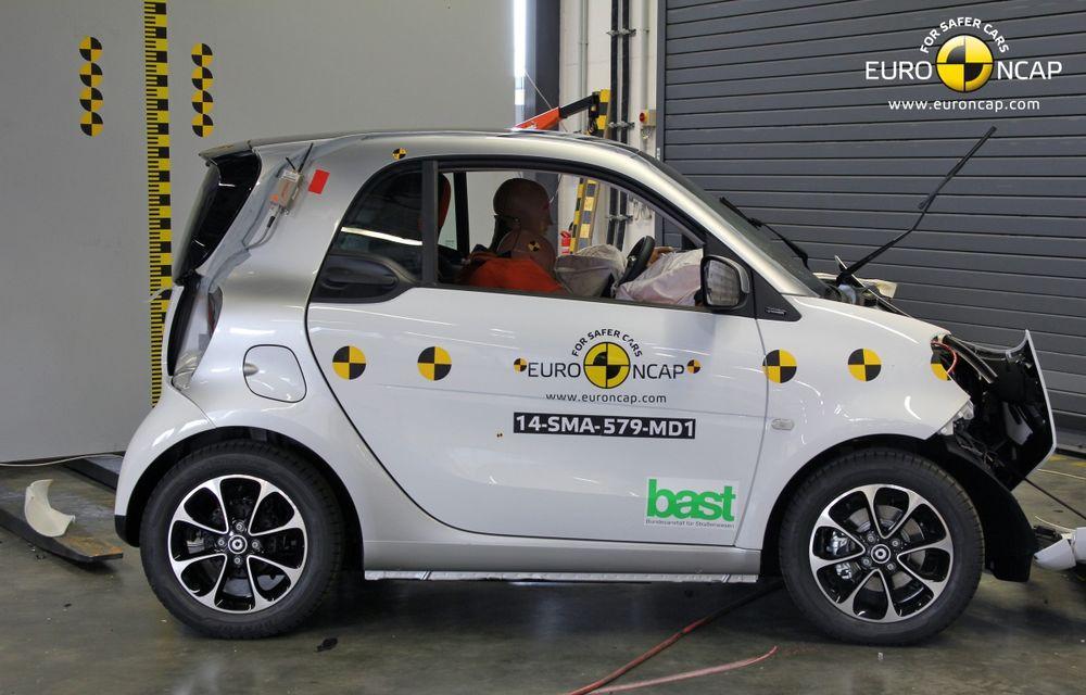 Noi rezultate EuroNCAP: Passat și Mondeo primesc cinci stele, însă Mini, Smart și Opel Corsa reușesc doar patru - Poza 8