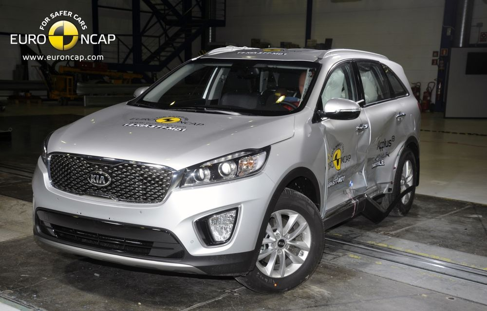 Noi rezultate EuroNCAP: Passat și Mondeo primesc cinci stele, însă Mini, Smart și Opel Corsa reușesc doar patru - Poza 62