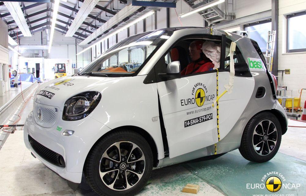 Noi rezultate EuroNCAP: Passat și Mondeo primesc cinci stele, însă Mini, Smart și Opel Corsa reușesc doar patru - Poza 11