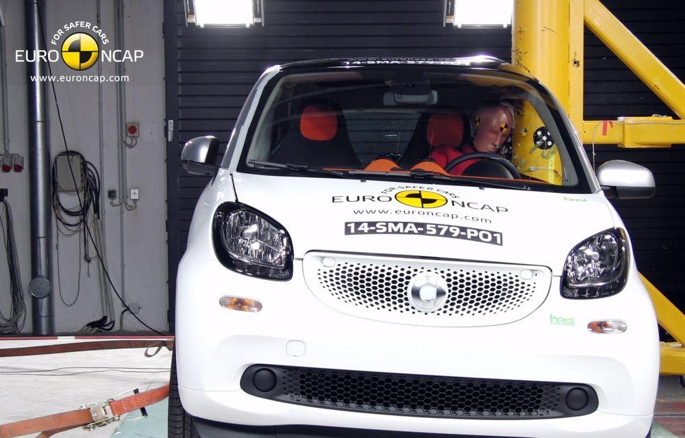 Noi rezultate EuroNCAP: Passat și Mondeo primesc cinci stele, însă Mini, Smart și Opel Corsa reușesc doar patru - Poza 9