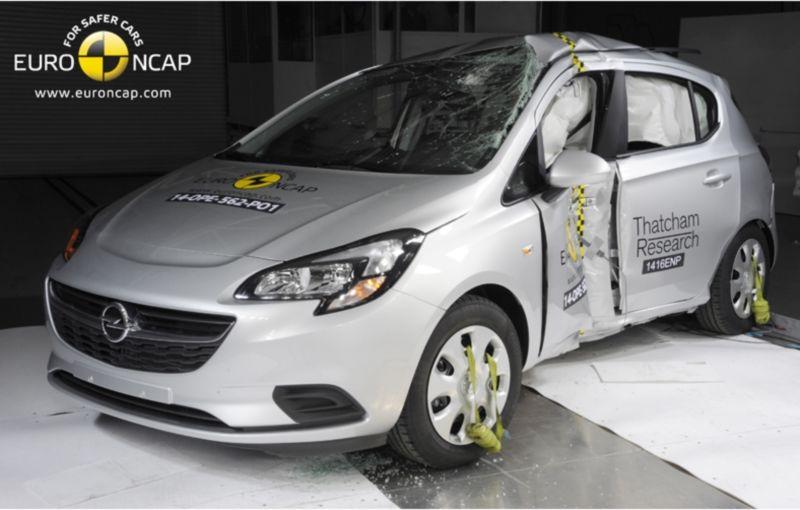 Noi rezultate EuroNCAP: Passat și Mondeo primesc cinci stele, însă Mini, Smart și Opel Corsa reușesc doar patru - Poza 61