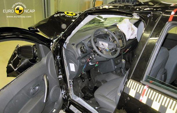 Dacia Logan MCV a obținut doar trei stele EuroNCAP. Familia Logan a fost retrogradată de criteriile de testare mai aspre - Poza 3