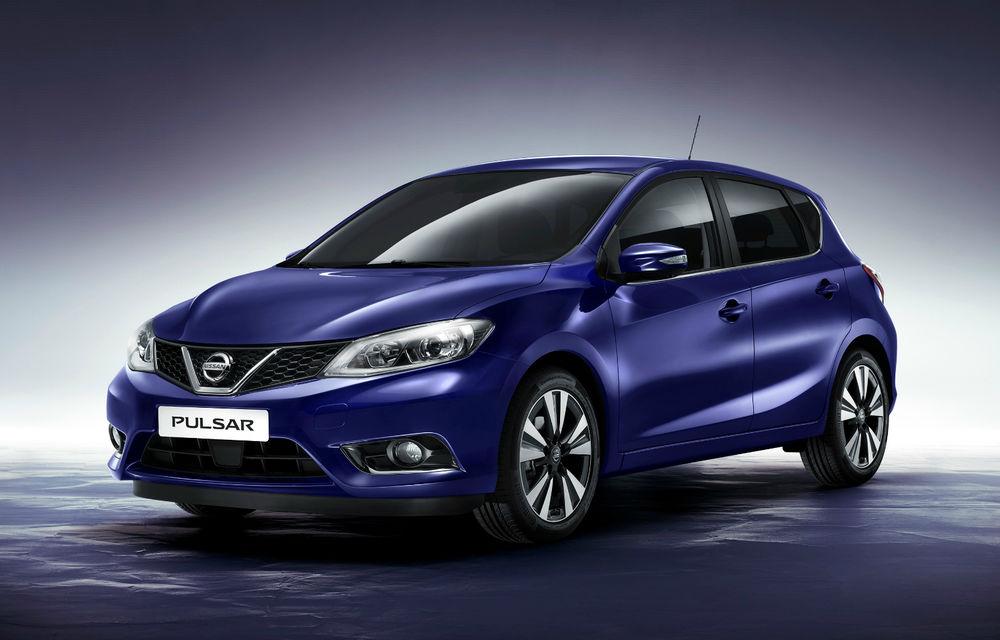 Preţuri Nissan Pulsar în România: hatchback-ul compact al japonezilor porneşte de la 16.150 de euro - Poza 1