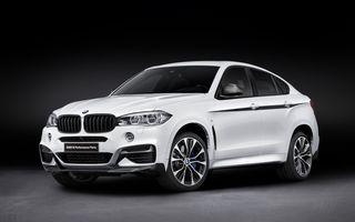 BMW prezintă gama de accesorii M Performance pentru X6