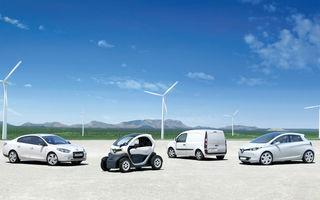 Alianţa Renault-Nissan a vândut 200.000 de maşini electrice în patru ani