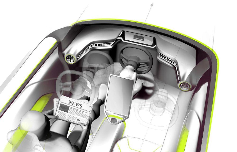 Rinspeed Budii, conceptul unei maşini autonome elveţiene - Poza 2