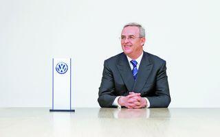 Martin Winterkorn nu va mai conduce marca Volkswagen de la 1 octombrie 2015