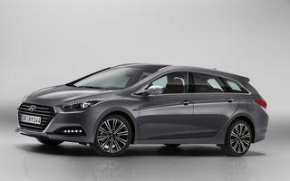 Hyundai i40 facelift - modelul de clasă medie primeşte o faţă nouă şi o transmisie automată cu şapte trepte