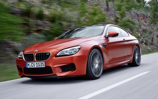 BMW Seria 6 Cabrio, Coupe, Gran Coupe şi M6 au primit un facelift discret