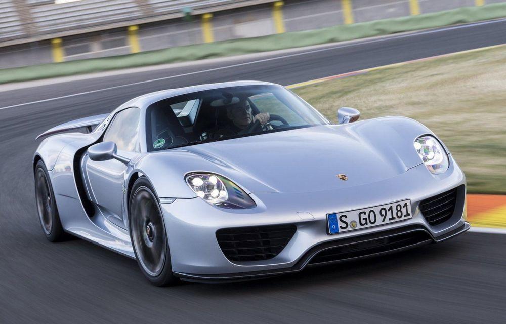 Porsche a umplut lista de comenzi a lui 918 Spyder şi confirmă succesorul acestuia - Poza 1