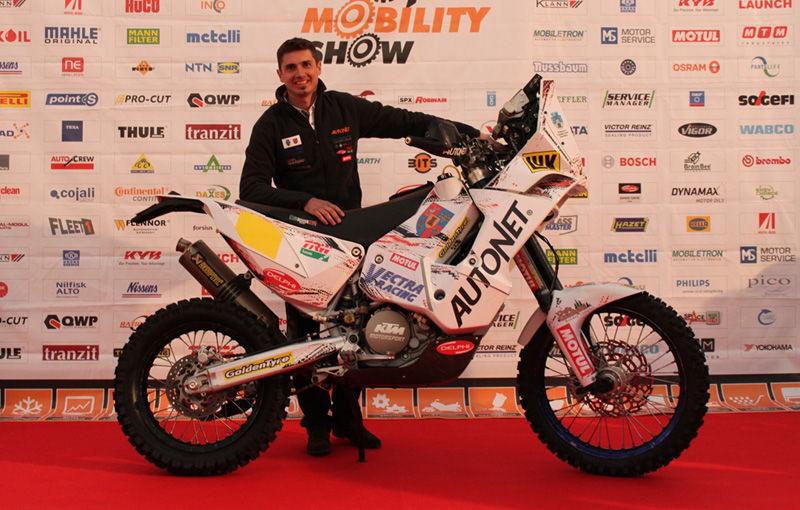 Pilotul român Mani Gyenes revine în Raliul Dakar după o absenţă de doi ani - Poza 1