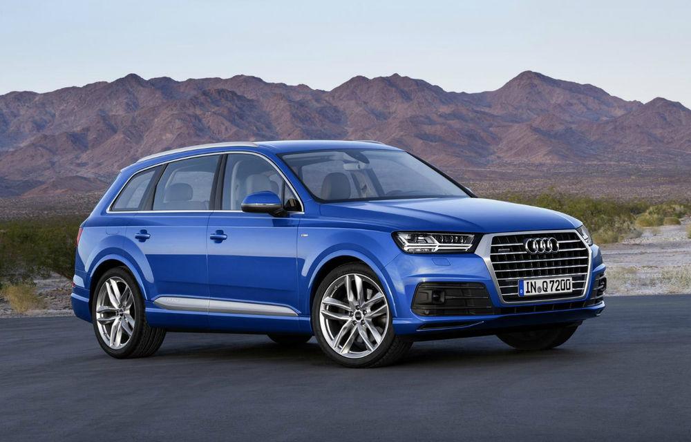 Audi Q7 ajunge la a doua generaţie: fotografii, informaţii şi date oficiale - Poza 1