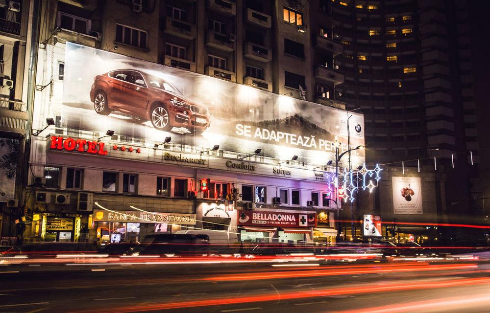 Noul BMW X6, promovat outdoor în România cu o imagine imortalizată de fotograful Automarket - Poza 1