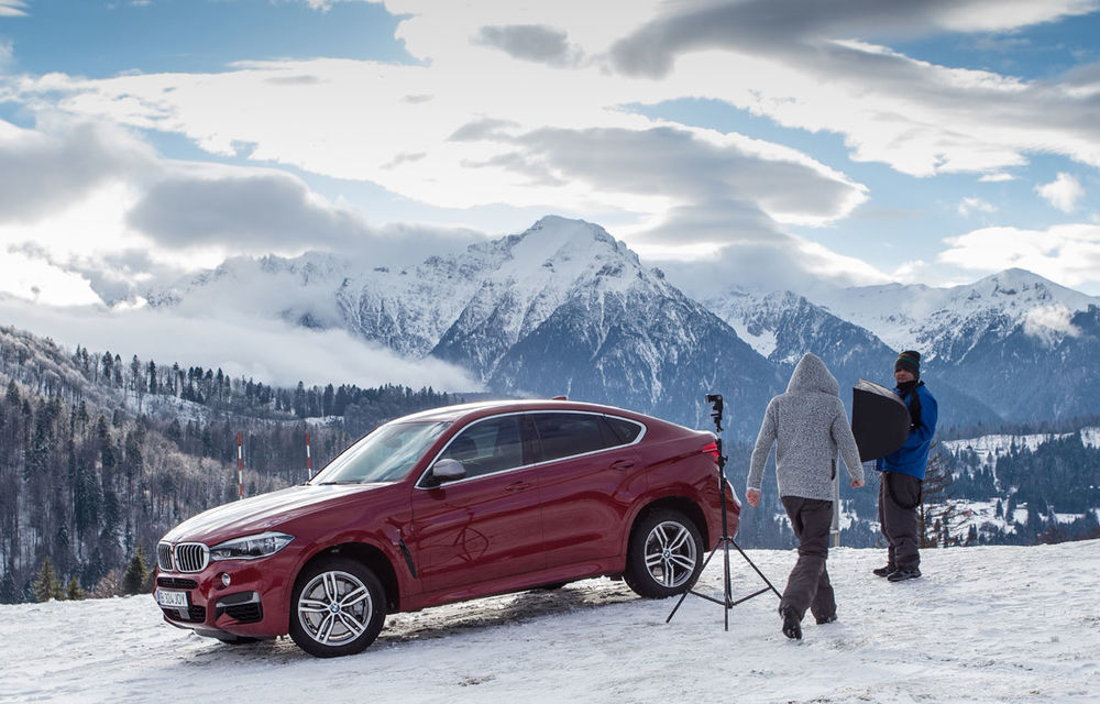 Noul BMW X6, promovat outdoor în România cu o imagine imortalizată de fotograful Automarket - Poza 4