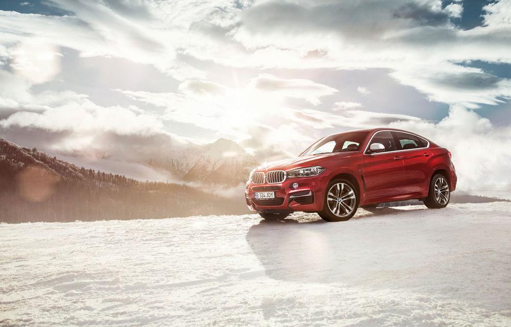 Noul BMW X6, promovat outdoor în România cu o imagine imortalizată de fotograful Automarket - Poza 2