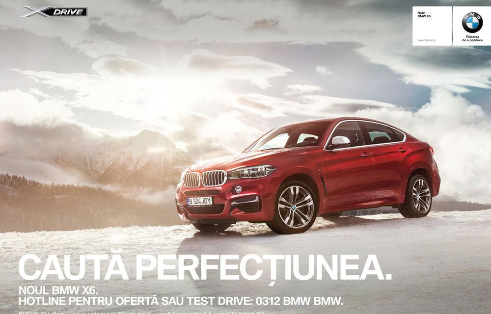 Noul BMW X6, promovat outdoor în România cu o imagine imortalizată de fotograful Automarket - Poza 3