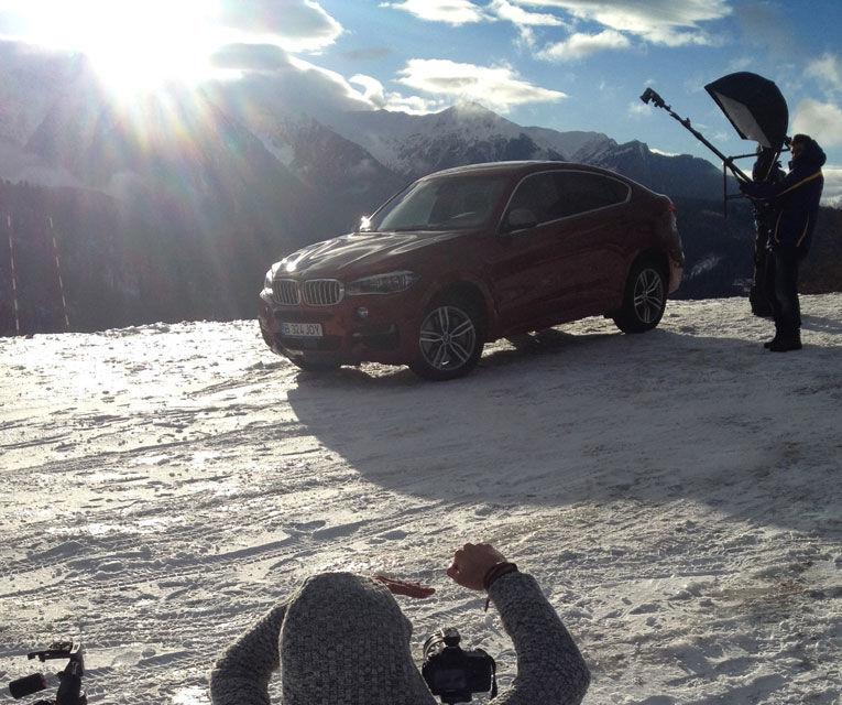 Noul BMW X6, promovat outdoor în România cu o imagine imortalizată de fotograful Automarket - Poza 8