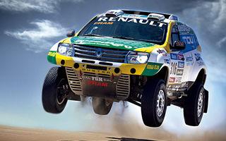 Două echipaje Renault Duster vor participa la Raliul Dakar 2015