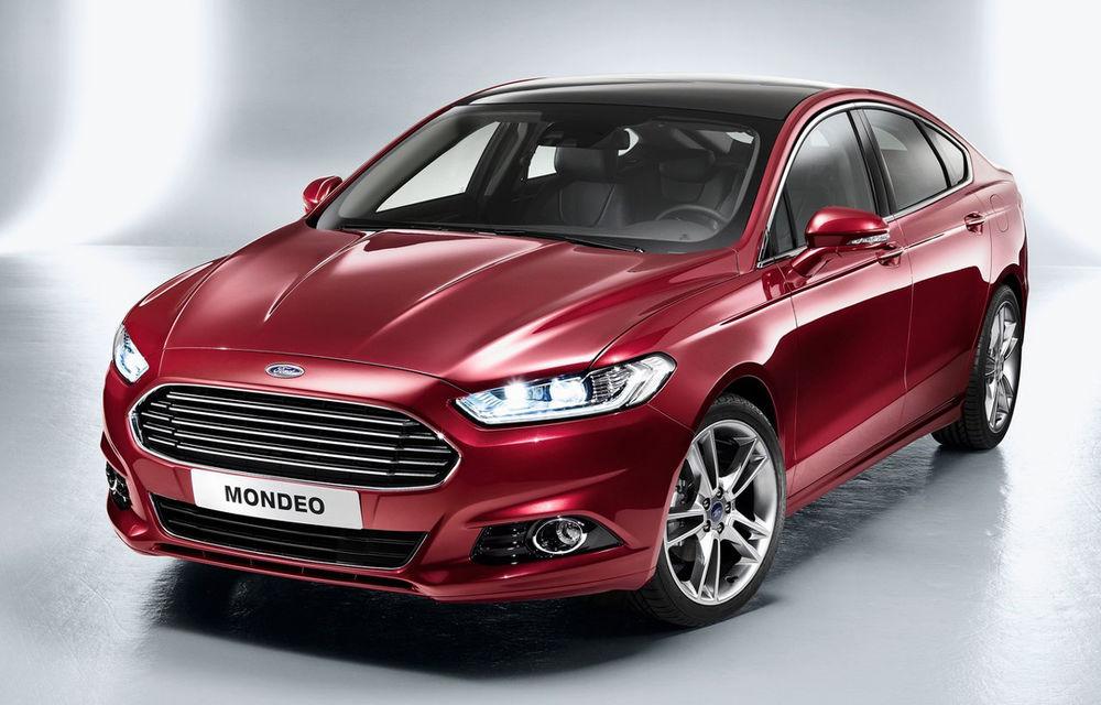 Preţuri Ford Mondeo în România: noua generaţie a modelului de clasă medie pleacă de la 24.300 de euro - Poza 1