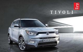 Ssangyong Tivoli - primele imagini cu noul SUV asiatic