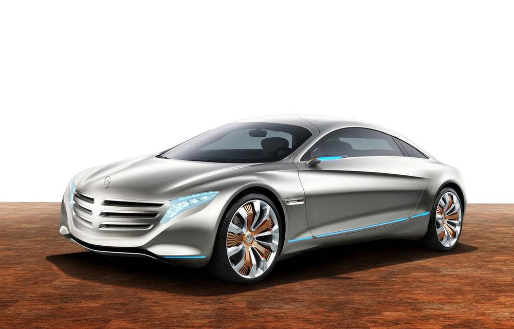 Mercedes-Benz pregătește în secret o gamă de mașini electrice. Numele său: Ecoluxe - Poza 1
