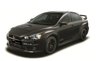 Mitsubishi Lancer Evolution X Final Concept - 480 CP pentru versiunea de adio a berlinei de performanță