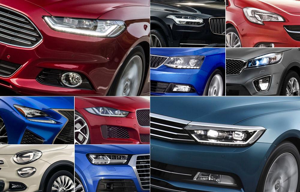 GHIDUL AUTO AL ANULUI: 90 de mașini care se lansează în România în 2015 - Poza 1
