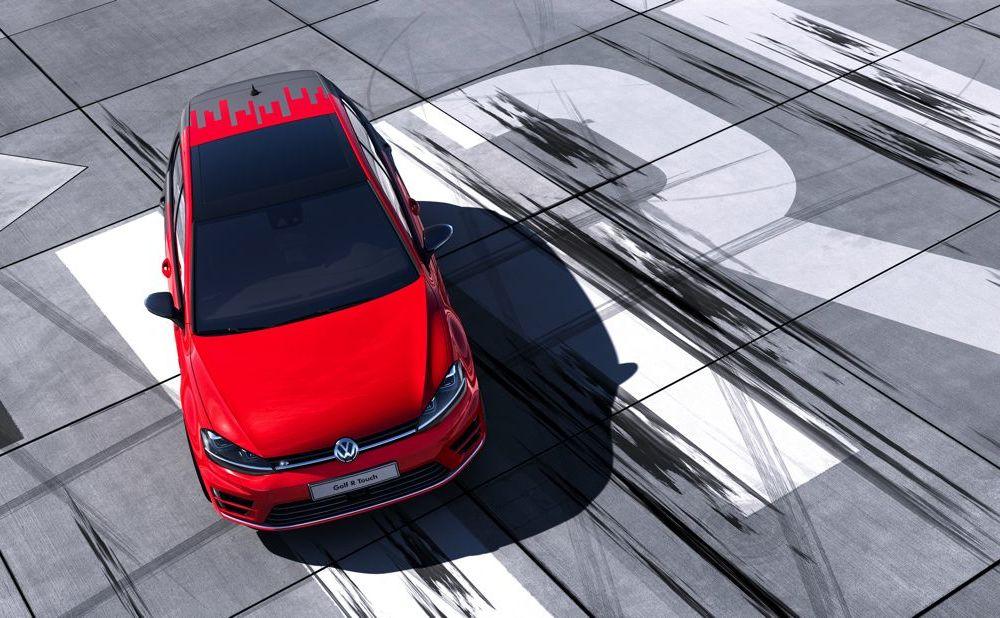 Volkswagen Golf R Touch: conceptul care face trecerea de la butoanele conservatoare la ecranele digitale - Poza 4